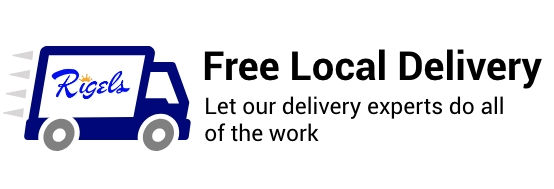 Free Local Delivery. Let our delivery experts do all the work.